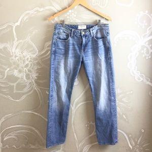 🌻FRAME Le Grand Garçon slouchy straight leg jeans